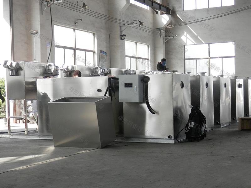 餐廚垃圾地面隔油提升裝置制造