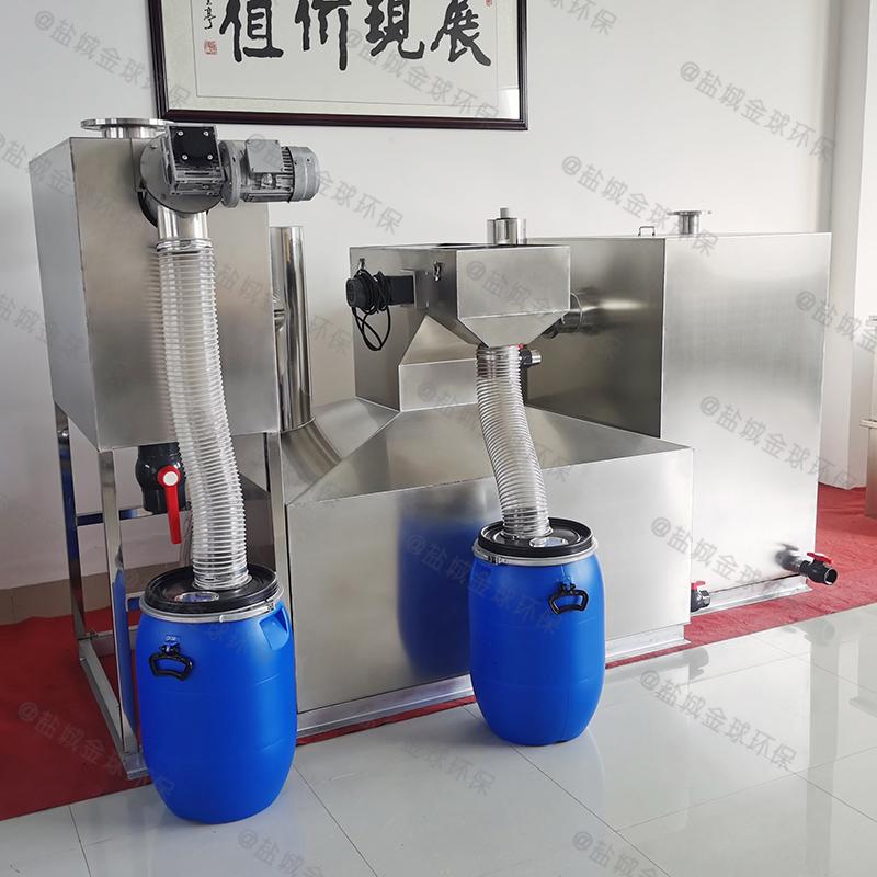 部隊食堂污水提升油脂分離池廚房廠家