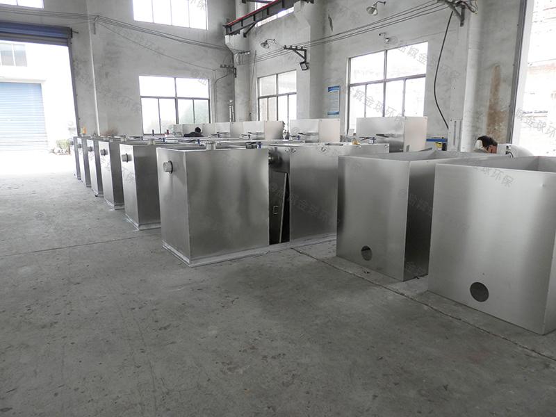怎么做地下商場一體化隔油污水提升設備圖示