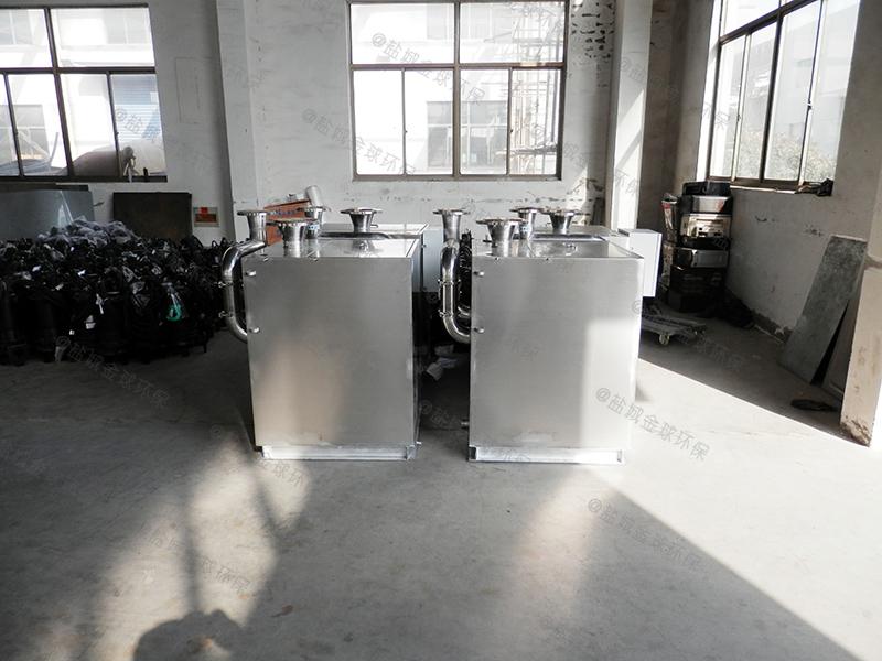 什么情況選擇304不銹鋼廚余油水分離器大樣