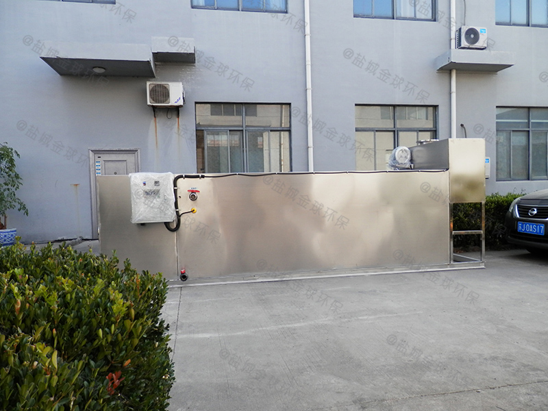 怎樣做全自動加熱酒店廚房下水道油水分離標識
