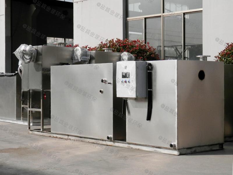 工廠成品全自動一體化餐廚油水分離處理器生產廠商