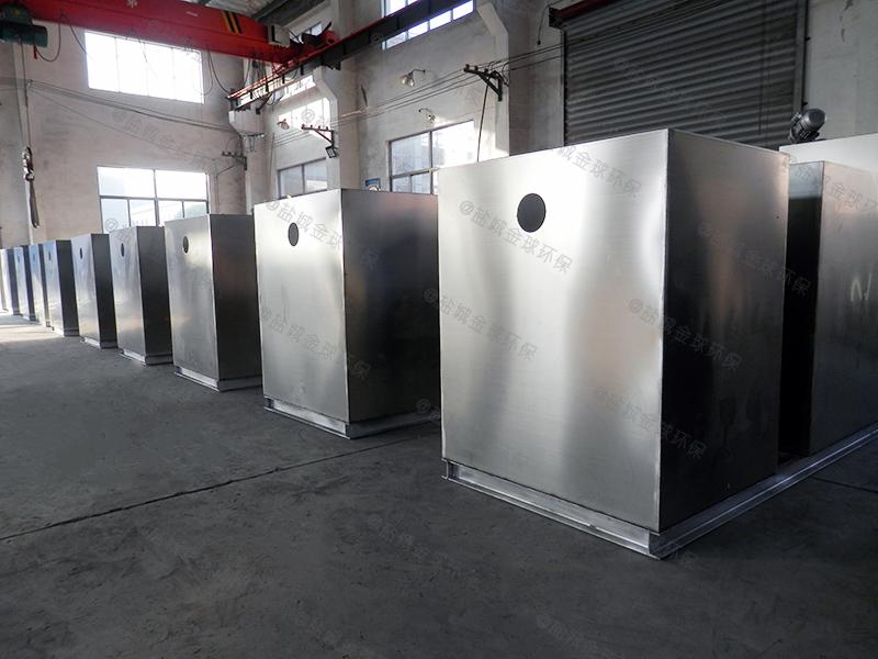 廚房廢水下水道隔油提升一體化設備設計標準