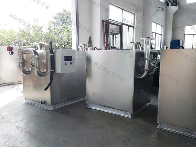 大型酒店隔油除渣一體化設備廚余垃圾油水分離機油脂生產成套設備