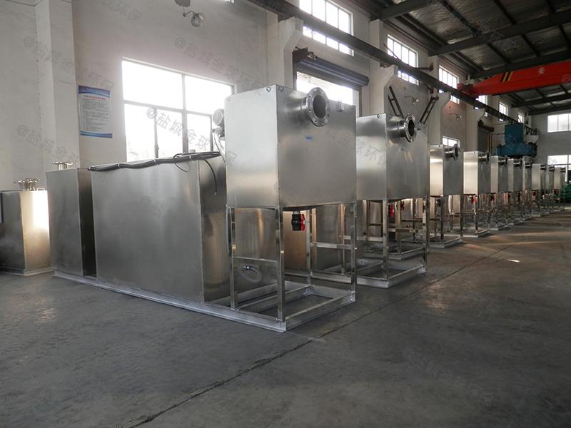 定制食品廠隔油提升設備規格