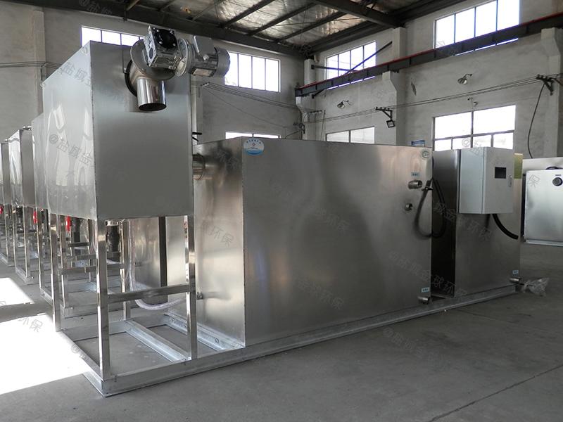廚用油污分離隔油池油脂生產成套設備