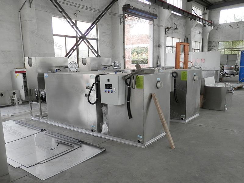定做餐余废水智能隔油提升一体化设备型号
