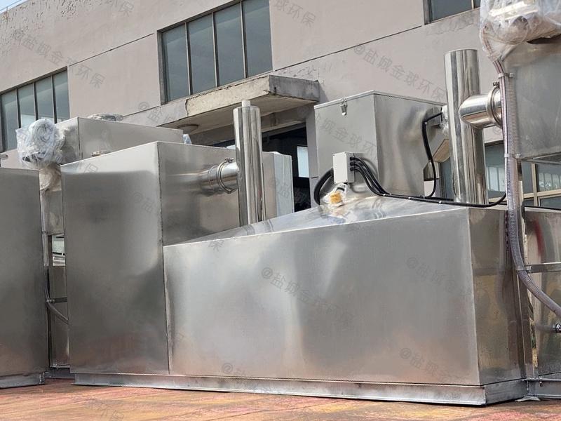 飯店廢水三級濾渣油水分離設備標準