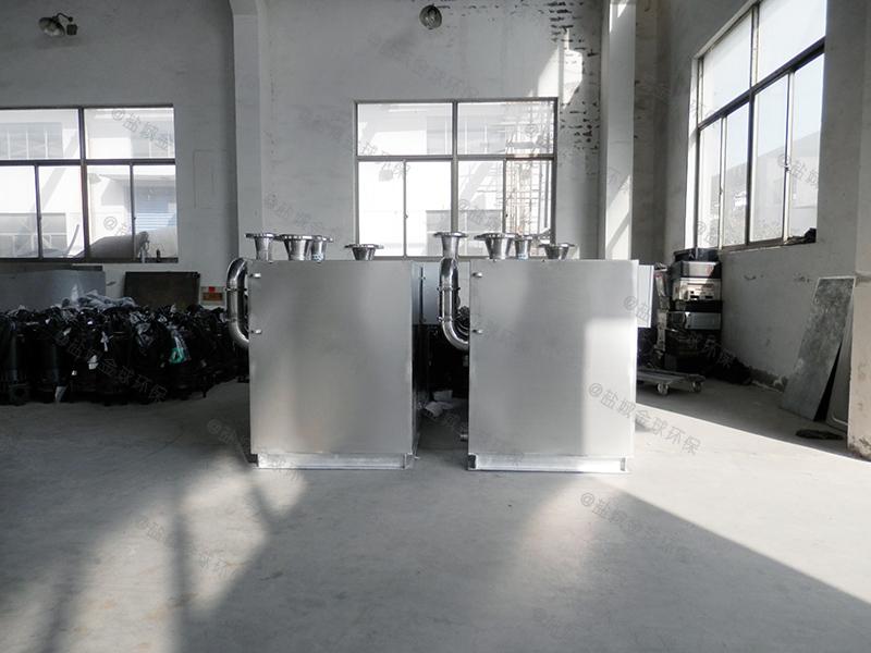 定做304不銹鋼板油水分離器效果圖