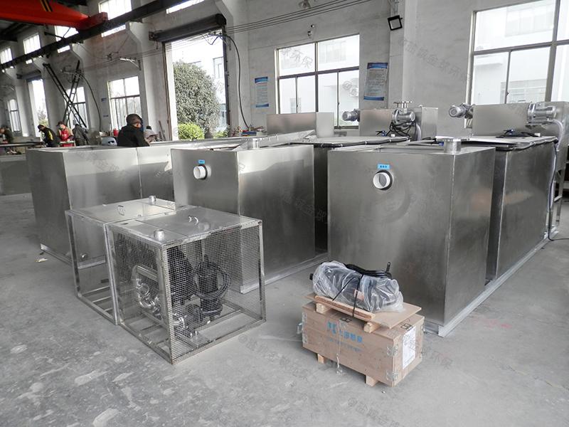 學校食堂污水處理油污水分離器設計圖紙