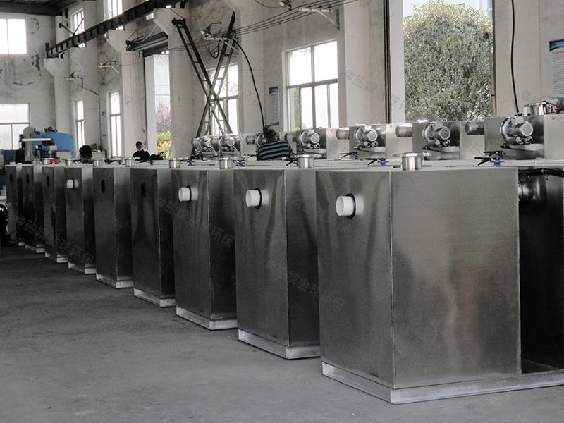 游樂場三級除渣除泥隔油提升設備怎么放水