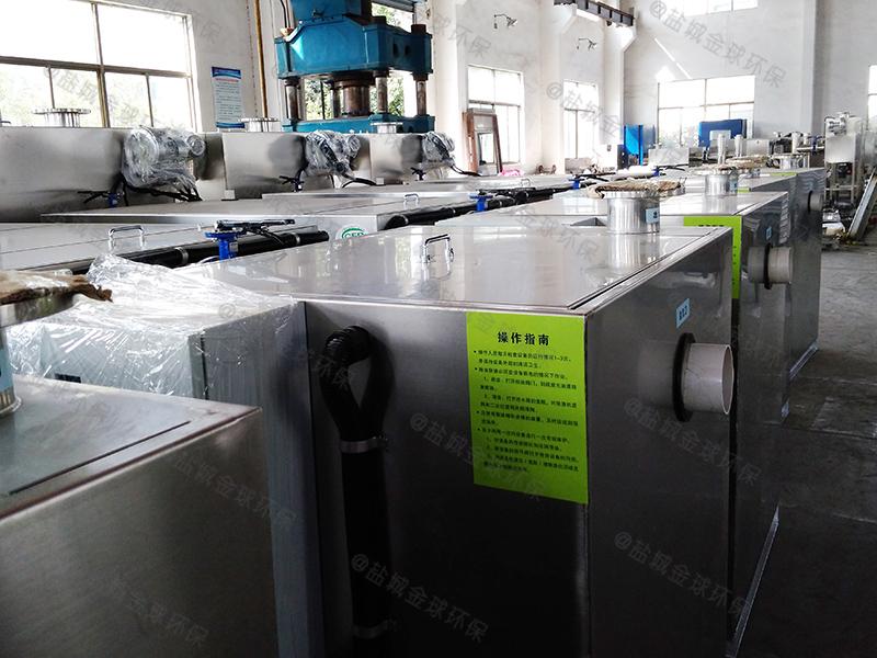 埋地分離污水隔油提升設備設計標準