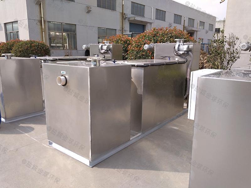 廚房廢水三級處理油水分離器安裝及維護