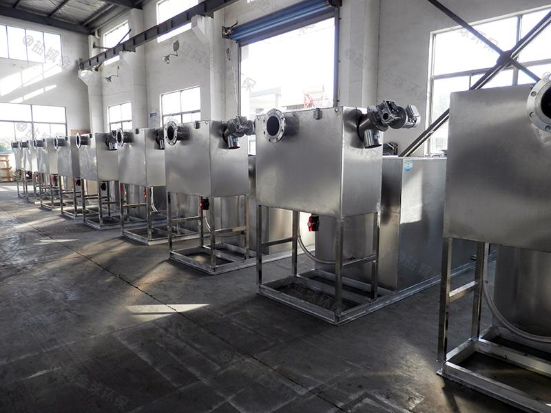 質量可靠不銹鋼廚余油水渣分離設備價格