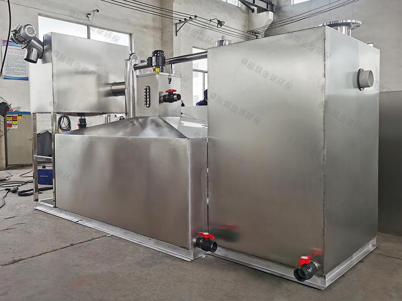 餐廚垃圾不銹鋼一體化油脂分離機發展趨勢