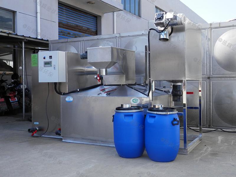廚用不銹鋼一體化隔油池廠家價格從優