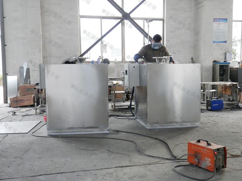 餐飲廢水陸用一體化隔油提升設備去除效率