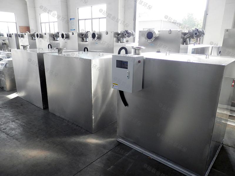 量身定做201不銹鋼餐廳下水油水分離池設計規范
