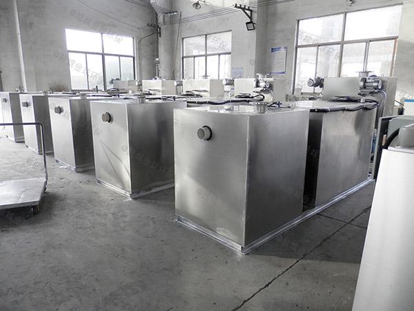 工地地面全自動智能型油水分離器與隔油池安裝