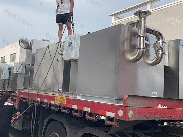 酒店地上式機械隔油池提升一體化設備