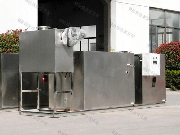 綜合體埋地機械三級隔油器安裝維護