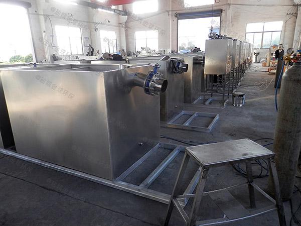 火鍋地下室廢水油脂分離機參數