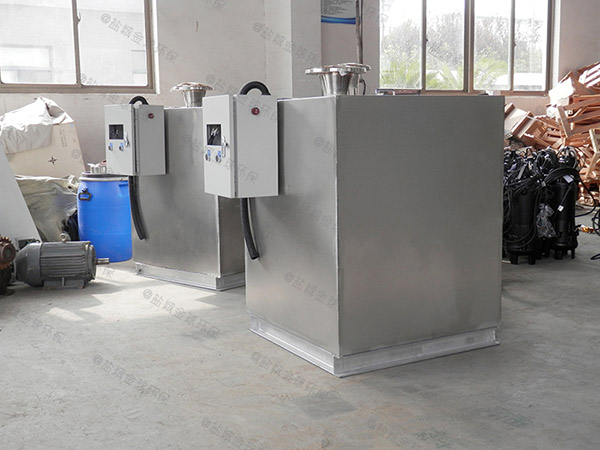 餐館地下式自動提升隔油強排一體化設備出廠價格