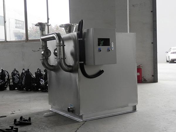 生活地埋智能型氣浮隔油設備內部結構圖