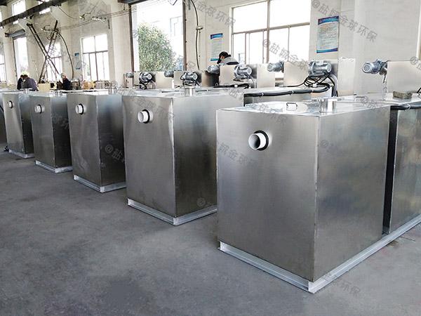 工地食堂室外污水油污水分離裝置環保要求