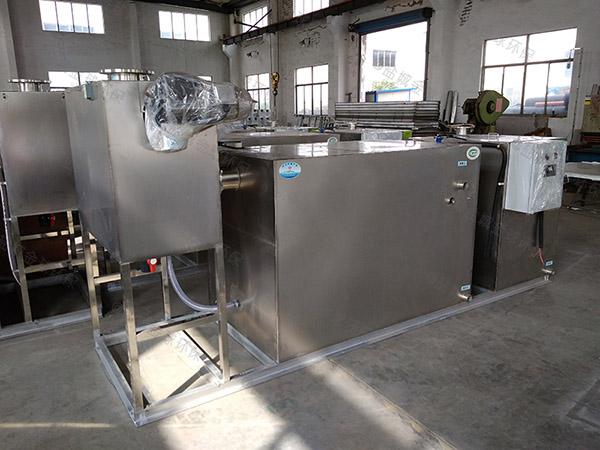 生活地埋式污水成套隔油池設備改造升級