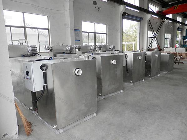 餐飲行業地上泔水油水處理器出廠價格