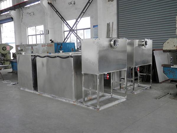 商用地面式半自動隔油隔渣設備的選型