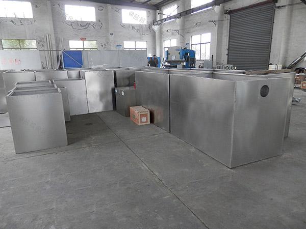 工地食堂埋地全能型三格隔油池批發