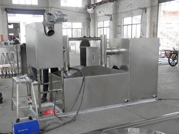小區地上式分體式油水固三相分離裝置設計方案