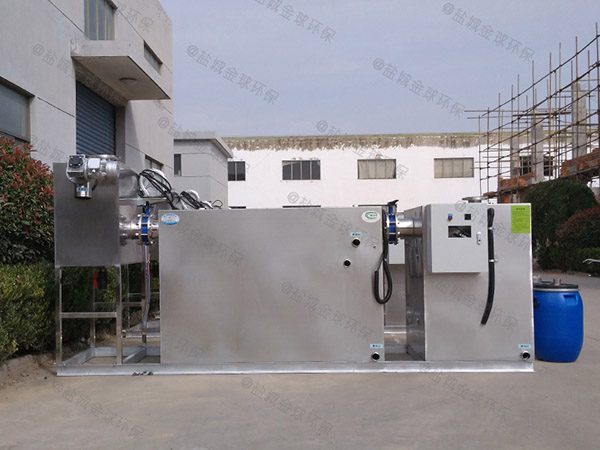 飯店用地埋無動力隔油一體化設備分類