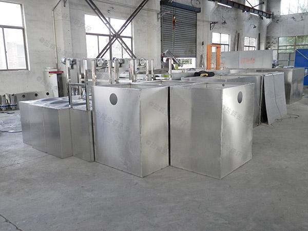 火鍋專用埋地簡易三級油水分離器的作用