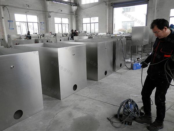 工程埋地全自动油脂分离器方案