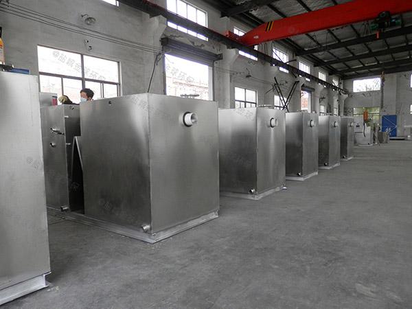 飯店密閉式組合式一體化隔油池提升設備安裝維護