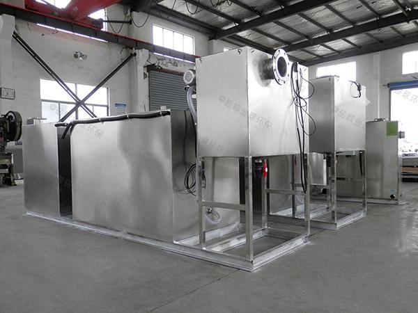 廚房用地上式全自動智能型油水分離器與隔油池方法