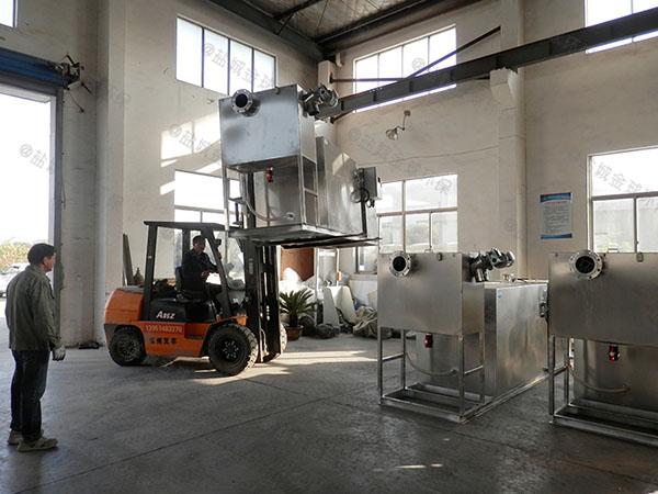 學校全自動智能型油污水分離器改造廠家