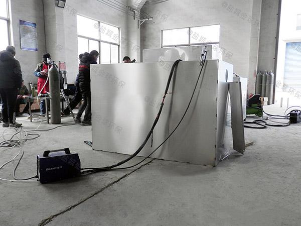 工地食堂小型油水分離機重量