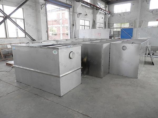 商場餐飲廢水油水分離一體化設備規格型號