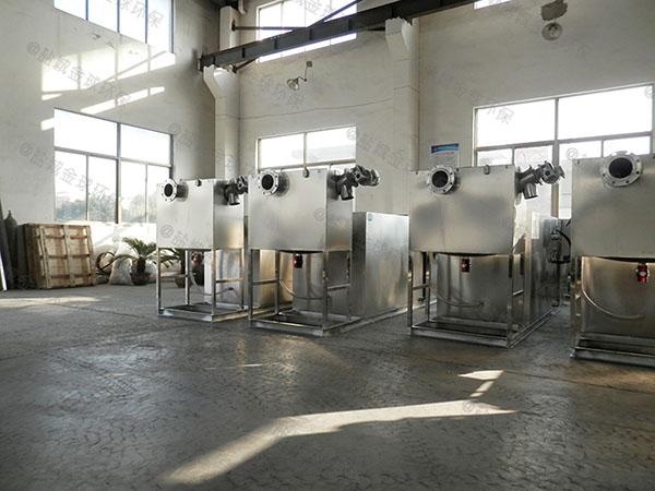 生活廢水油水過濾分離器技術參數