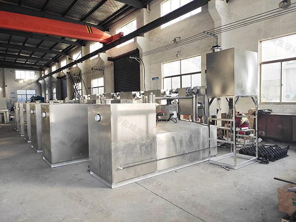 小區地上式油水處理設備供應廠家
