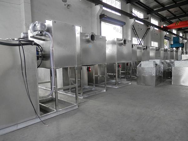 食堂地面式油污水分離裝置改造公司