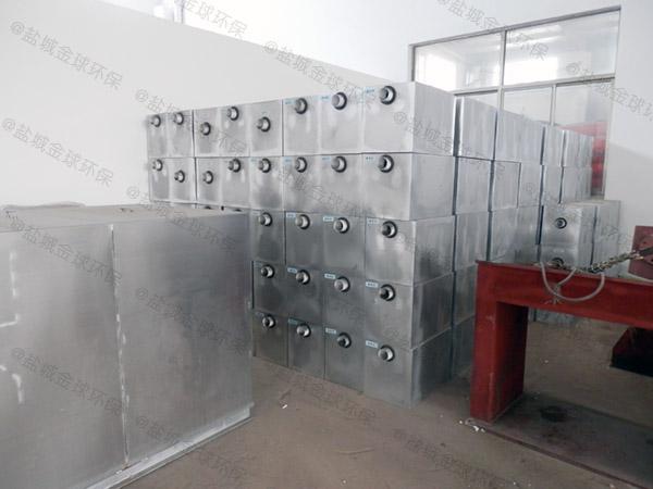 餐廳自動除渣含油污水處理設備制造