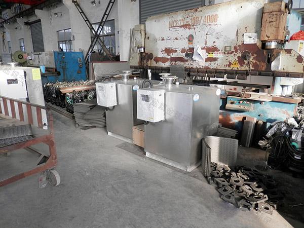 廚房用泔腳隔油提升設備種類