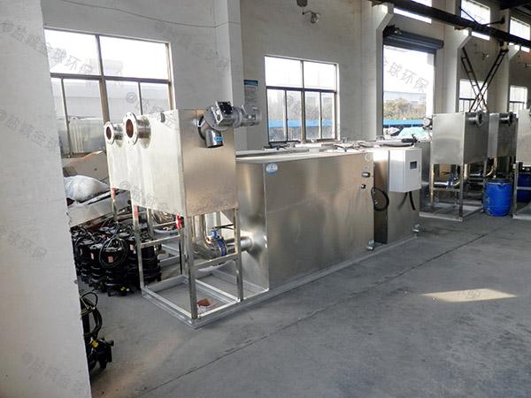 餐用廢水油水處理設備安裝