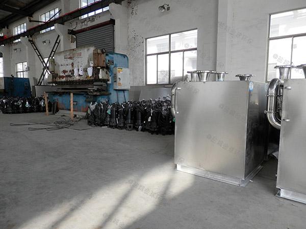 商業全自動一體式隔油設備操作