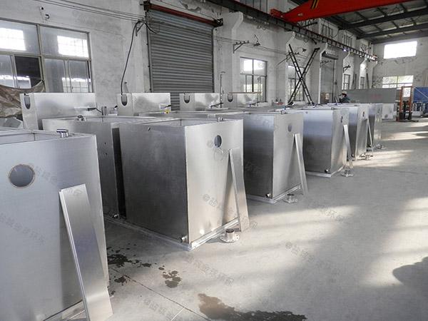 戶外簡易油脂分離設備出廠價格